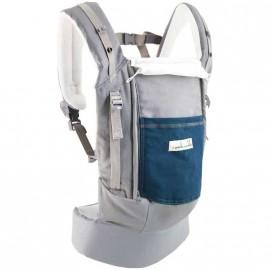 Porte-bébé PhysioCarrier JPMBB ELEPHANT poche Bleu Paon