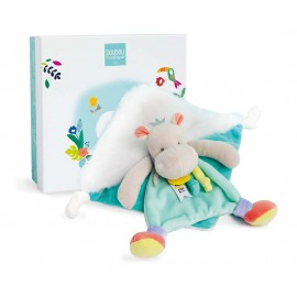 Doudou hippo Tropi'cool Doudou & Compagnie