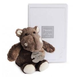 Peluche Hippo assis petit modèle 14cm Histoire d'Ours