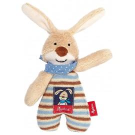 Hochet lapin beige/bleu Semmel Bunny Sigikid
