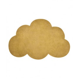 Tapis nuage moutarde Lilipinso