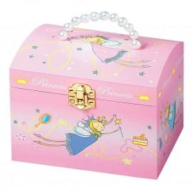 Grande malle à bijoux musicale perles Princesse Trousselier