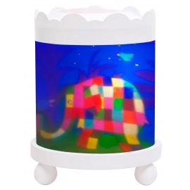 Lanterne manège magique Elmer L'éléphant Trousselier