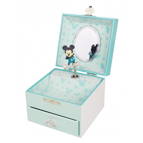 Boîte à musique Cube Mickey Baby