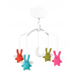 Mobile Musical Lapins - Anges par Trousselier