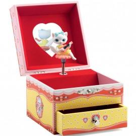 Boîte à bijoux musicale La chanson de Minette Djeco