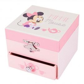 Boîte à musique Cube Minnie Baby