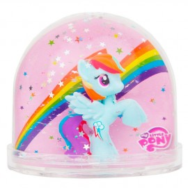 Boule à neige Mon petit poney Rainbow Trousselier
