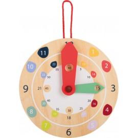 Horloge en bois Education Legler