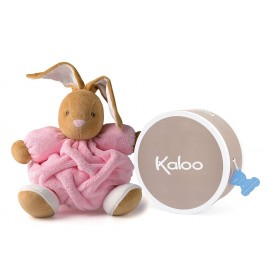 Doudou Lapin Plume Medium rose clair Kaloo