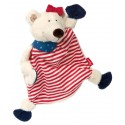 Doudou ours polaire fille sigikid