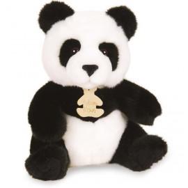 Peluche Panda 20cm les Authentiques Histoire d'Ours