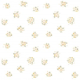 Lé de papier peint Vintage Fleurs Lilipinso