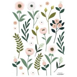 Stickers fleurs des champs Lilipinso
