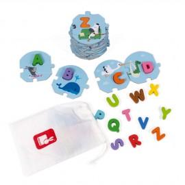 Puzzle 3 ans J'apprends l'alphabet Janod