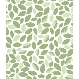 Papier peint Feuilles vertes Lilipinso