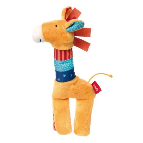 Girafe à saisir orange Sigikid