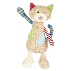 Peluche Chat Sweety patchwork Sigikid