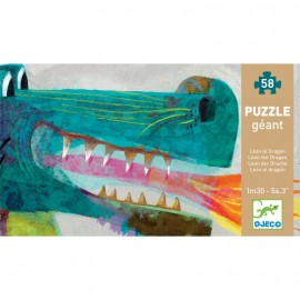 Puzzle Léon le dragon Djeco DJ07170