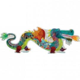 Puzzle géant Léon le dragon Djeco