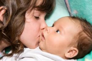 Personnalisé De Poupée De Chiffon Cadeau pour nouveau bébé grande petite sœur nouveau-né Baby Shower