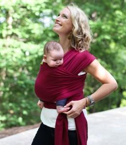 Boba Wrap écharpe de portage dès la naissance   Blog Une cuillère ... c912440f6d3