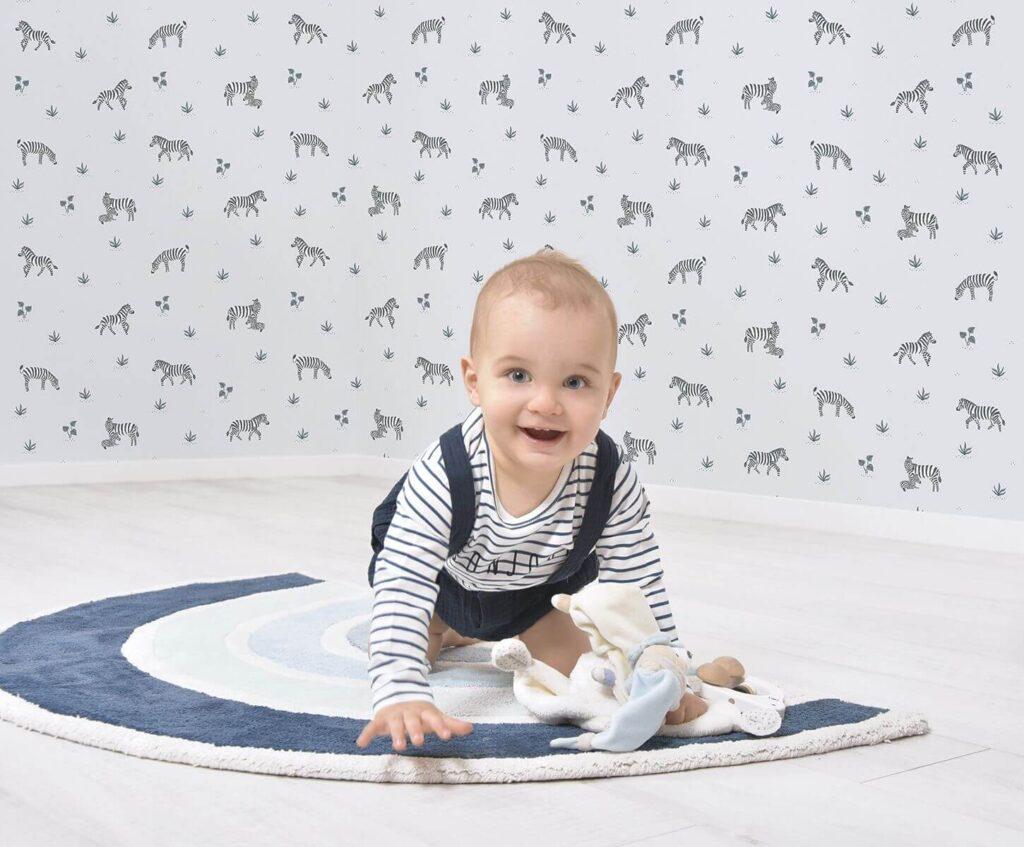 papier peint avec bébé