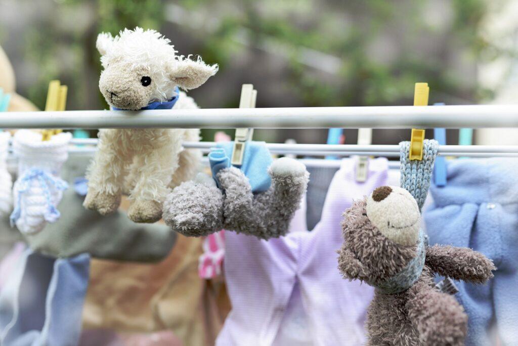ours en peluche lavés