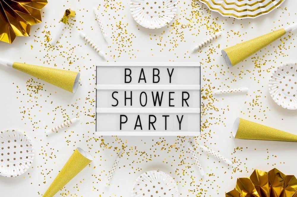 photo baby shower