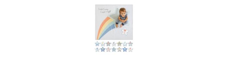 Souvenir et carte étape bébé